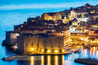 Old Town at night, Dubrovnik - BP4711