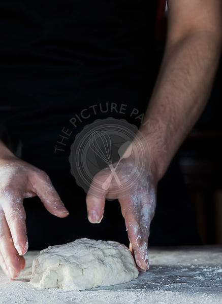 Fresh Bread Preparation