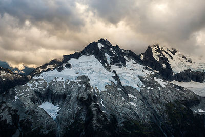 Glaciers on Mount Tantalus Squamish BC Canada