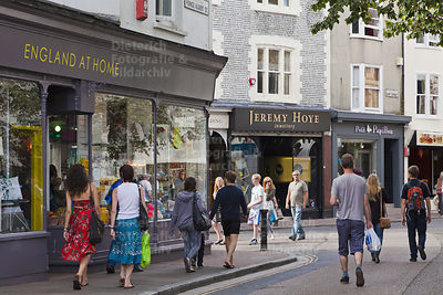 Shopping, Stadtteil The Lanes, Brighton, Sussex, England