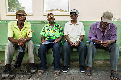 4 local characters in Castries, St Lucia
