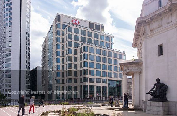 HSBC Headquarters in central Birmingham, England.