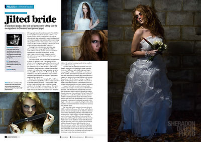 Jilted Bride Photo Shoot
