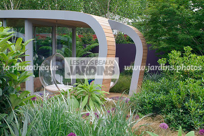 Chair, Contemporary garden, Garden furniture, Resting area, Digital, Summer, Veranda