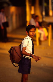 An Indian schoolboy, Madras