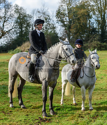 Zara Wise at the meet - The Cottesmore at Somerby 5/11