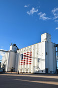 Small Town Stock Photos: Grain Elevator in Chappell, NE