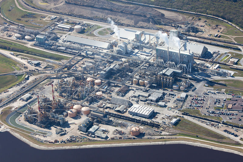 Phosphate Plant, Central Florida