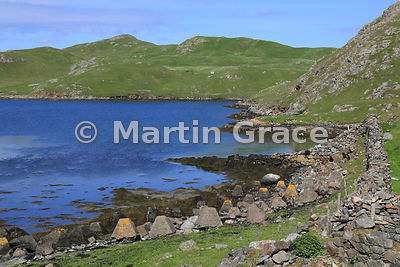 Inlet of the Atlantic Ocean at Mavis Grind, Shetland