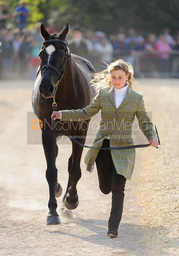 Emily Galbraith and TIMING - Mitsubishi Motors Badminton Horse Trials 2013