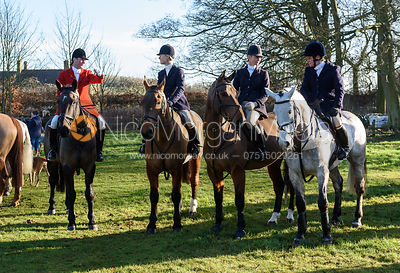Major Tim Brown at the Cottesmore Hunt meet at Pickwell Manor 8/1