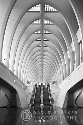 Liège Guillemins - escalator
