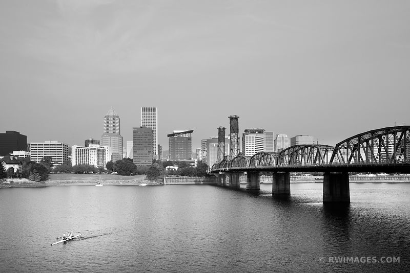Portland Oregon - Black and White Photos