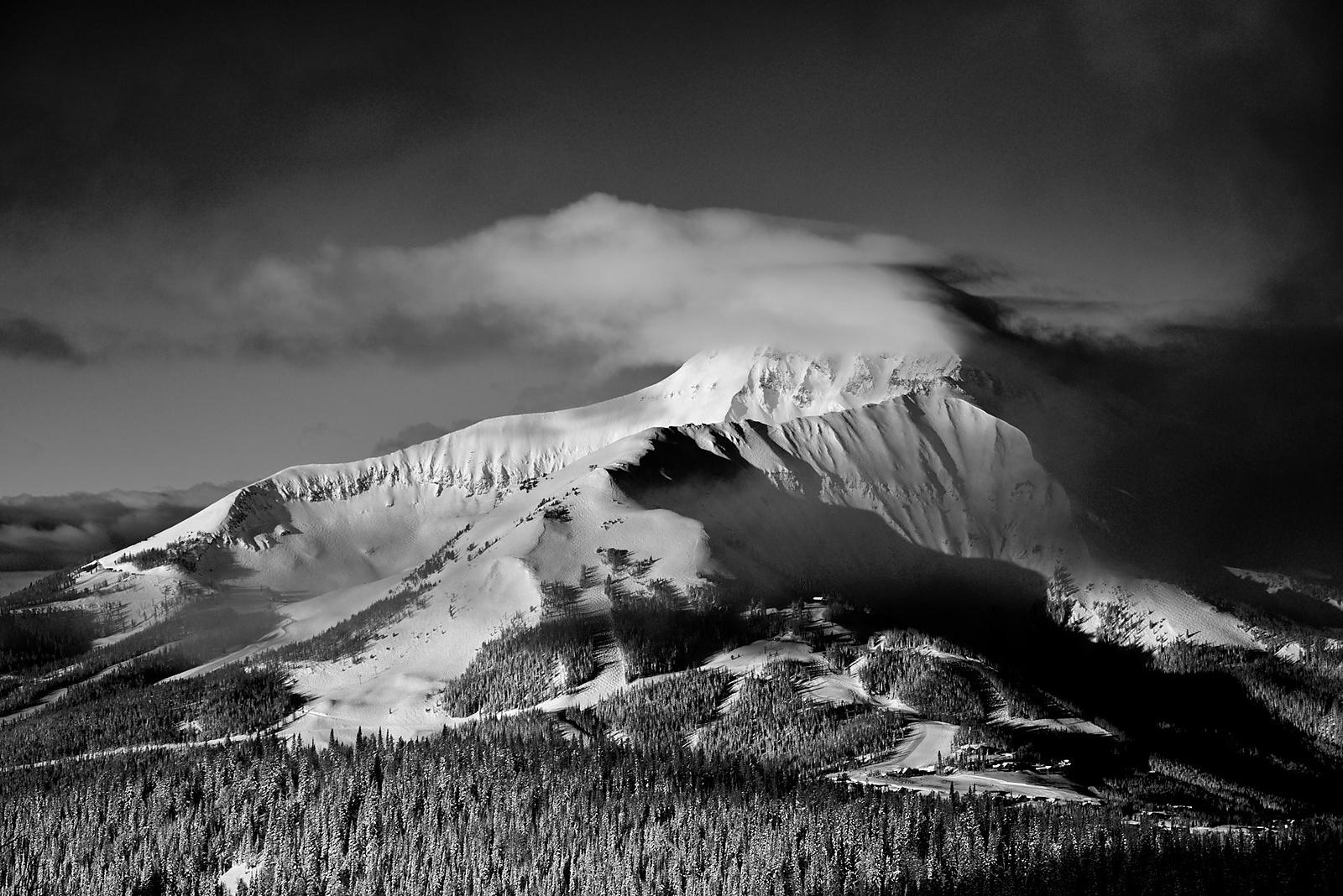 Dramatic Light on Lone Peak