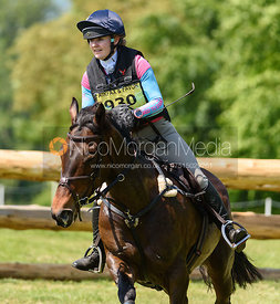 Emily Wheelhouse and SHES A LADY, Fairfax & Favor Rockingham Horse Trials 2018
