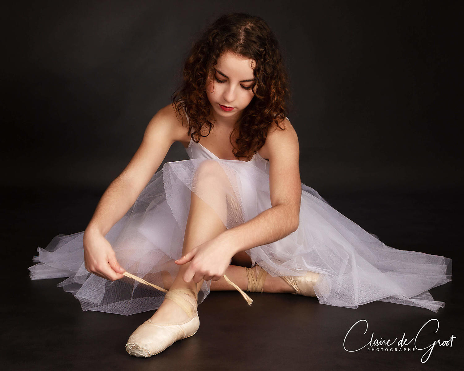 Pretty Ballet Studio Sports Portrait