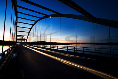 The Border Bridge Between Finland and Sweden