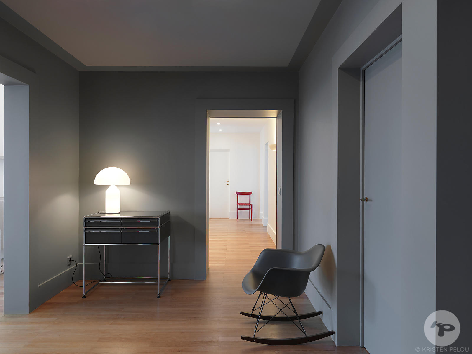 Photographe Architecture Paris - APPARTEMENT PRIVE PARIS. Photo ©Kristen Pelou