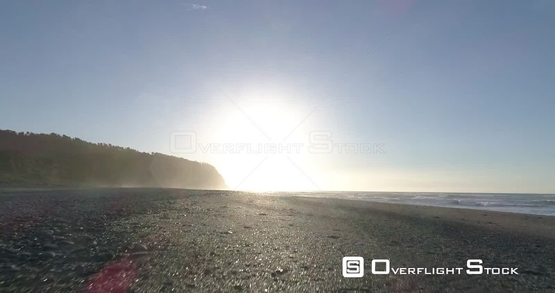 Drone Video Okarito Beach New Zealand