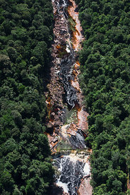 Kurupung river below Kumerau Falls, Pakaraima Mountains Guyana, South America