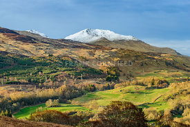 Beinn Ghlas and Ben Lawers, Scotland.