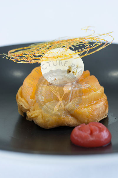 Apple tarte tatin dessert