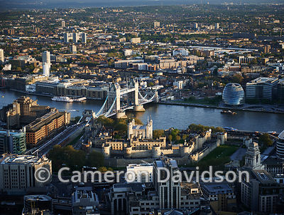Aerial Photo Tower of London