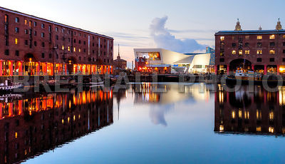 The Albert Dock at Dusk