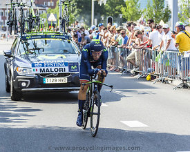 The Cyclist Adriano Malori - Tour de France 2015