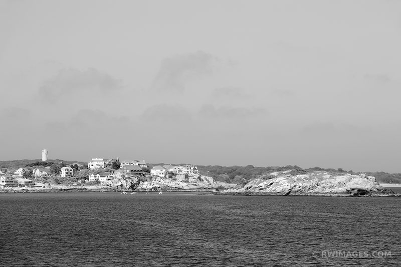 CAPE ANN MASSACHUSETTS BLACK AND WHITE