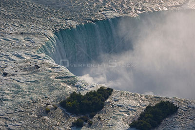 "Aerial view of the ""American Falls / Horseshoe Falls"", Niagara Falls, North America"
