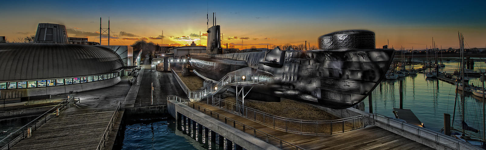 HMS Alliance WW2 Submarine; Gosport