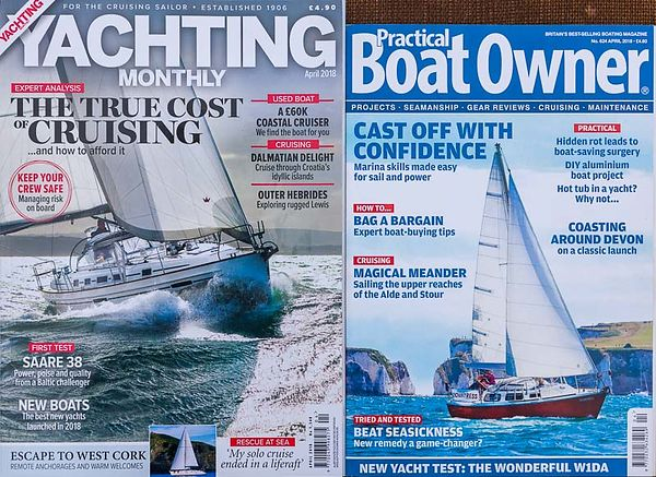 YACHTING MAGAZINES: WE'VE GOT THEM COVERED