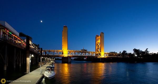Tower Bridge over the Sacramento River #3