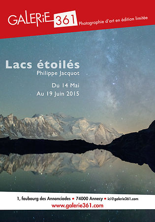 "EXHIBITION ""LACS ETOILES"" GALERIE 361 ANNECY – May/June 2015"