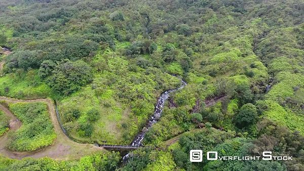Makapipi Falls Hana Highway Maui Hawaii Drone Video