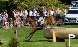 Oliver Townend and COOLEY SRS, cross country phase, Land Rover Burghley Horse Trials 2018