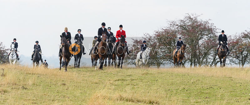 The Cottesmore Hunt at Braunston