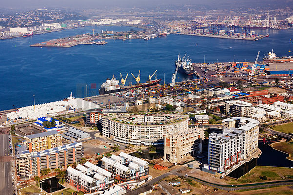 Durban Harbor and The Point Waterfront