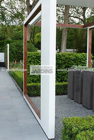 Contemporary garden, Digital, Garden construction, Pergola
