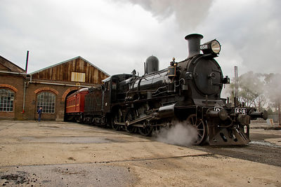 Steam engine 658