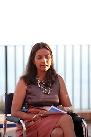 "Jhumpa Lahiri at ""Le Conversazioni"" Capri, Italy. 30th June 2013"