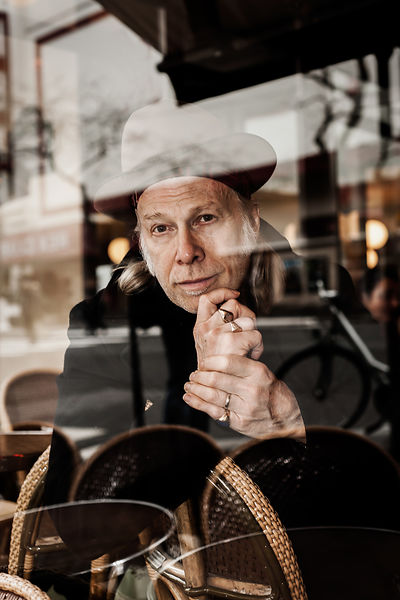 Elliott Murphy chanteur et musicien. © Laurent Cousin