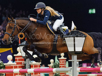 Abbie Squires and Enrique, Horse of the Year Show 2010