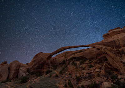 Ocean of Stars Over Landscape Arch