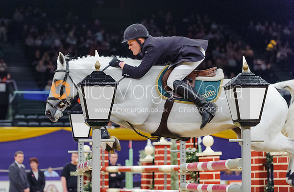 James Smith and Cumina, Horse of the Year Show 2010