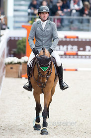 Paris, France, 17.3.2018, Sport, Reitsport, Saut Hermes - PRIX GL Events Bild zeigt Philipp WEISHAUPT(GER) riding Belo Horizonte...17/03/18, Paris, France, Sport, Equestrian sport Saut Hermes - PRIX GL Events. Image shows Philipp WEISHAUPT(GER) riding Belo Horizonte.