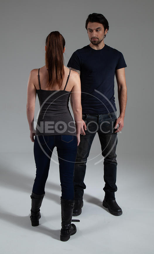 Urban Fantasy Duo Stock Photography