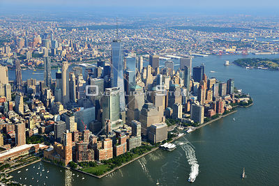 Financial District Downtown Manhattan New York
