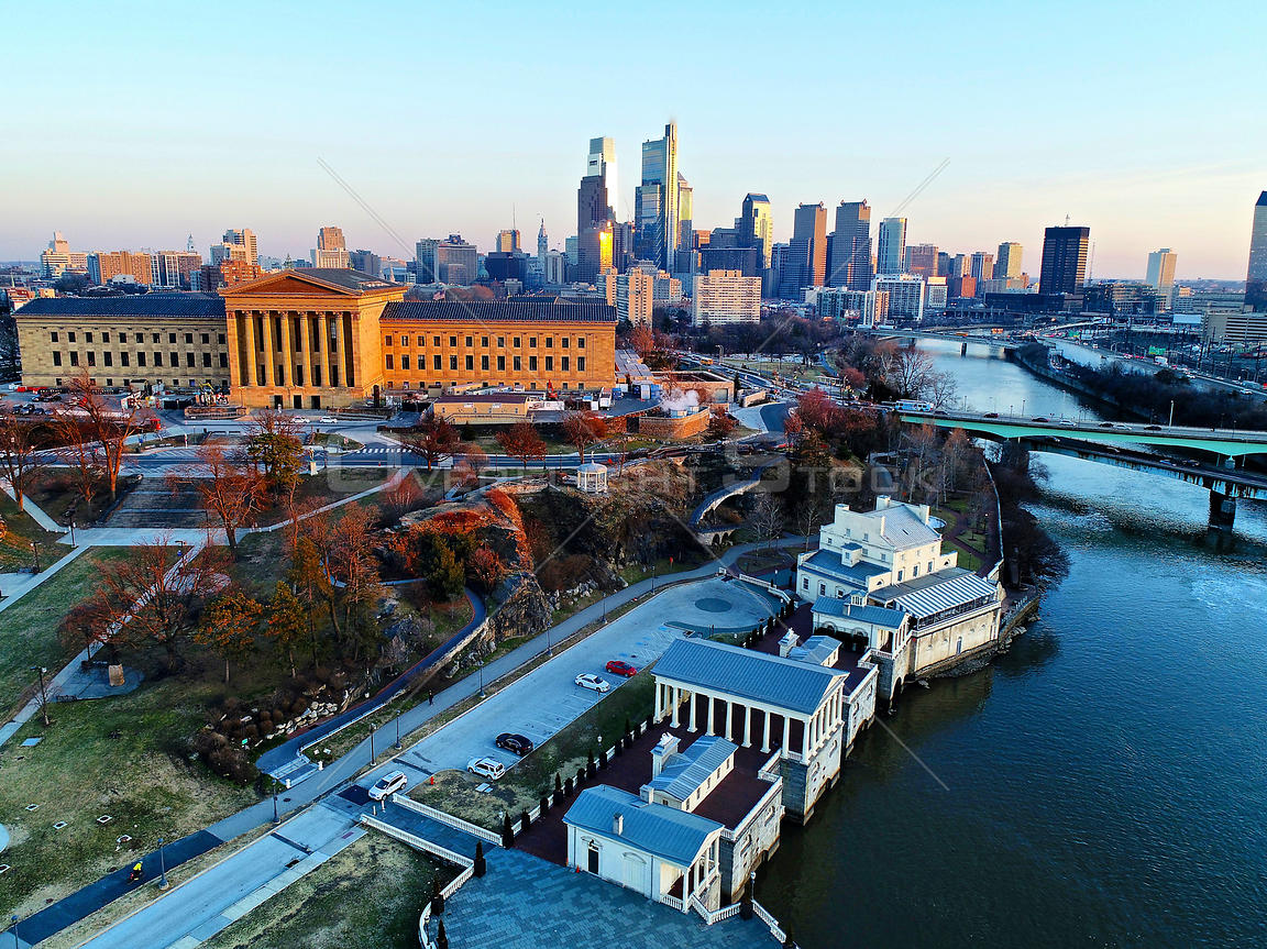 Philadelphia Pennsylvania Waterworks and Art Museum